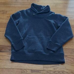 Crazy 8 navy shawl collar sweatshirt 7/8 boots